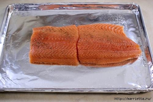 Запеченный лосось под сырной шубкой (10) (500x334, 151Kb)