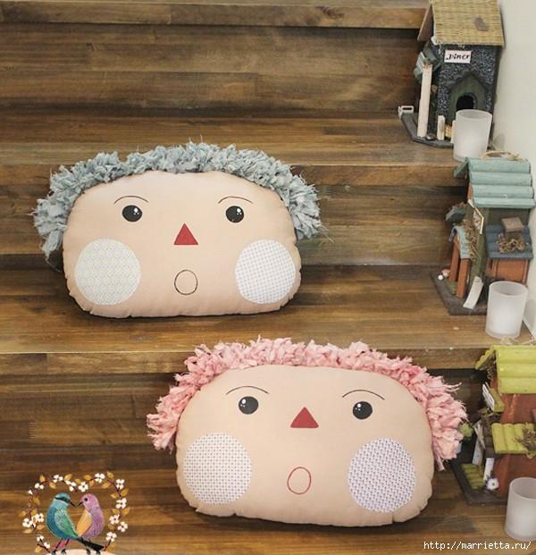 Подушки-игрушки своими руками (2) (600x621, 232Kb)