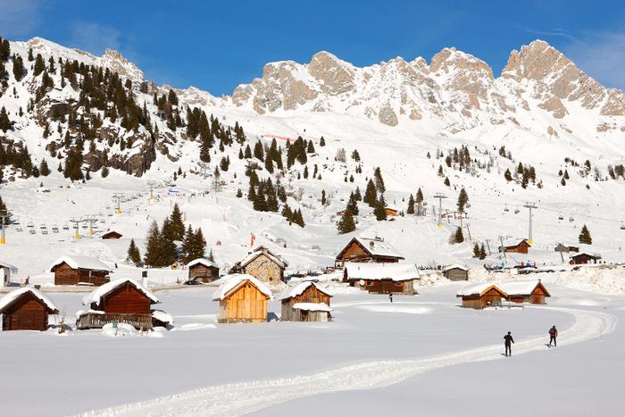 горнолыжные курорты италии Доломити супер-ски 6 (700x467, 466Kb)