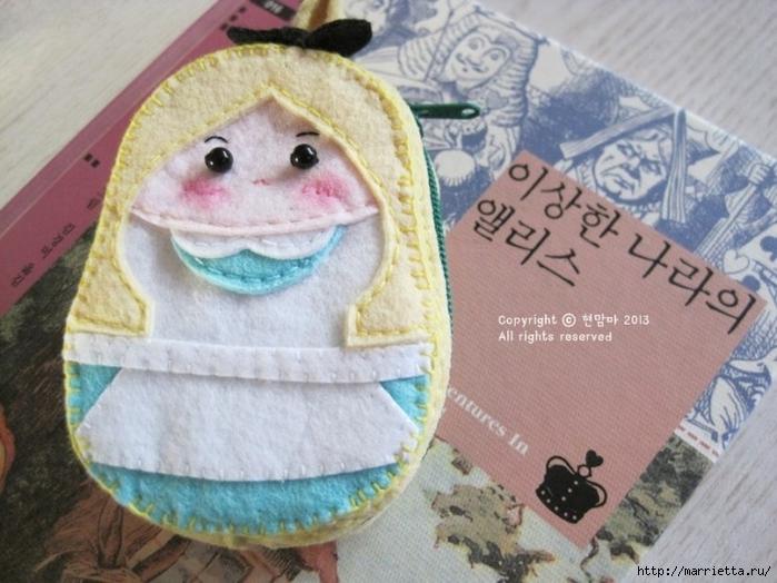 Детский кошелек-куколка из декоративного войлока (25) (700x524, 263Kb)