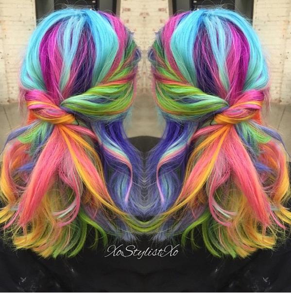 креативные прически Sand Art Hair 12 (599x602, 732Kb)