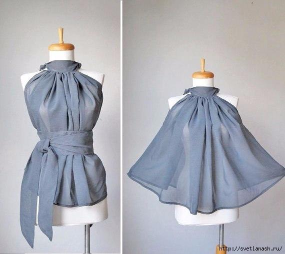 Платье своими руками быстро фото выкройки