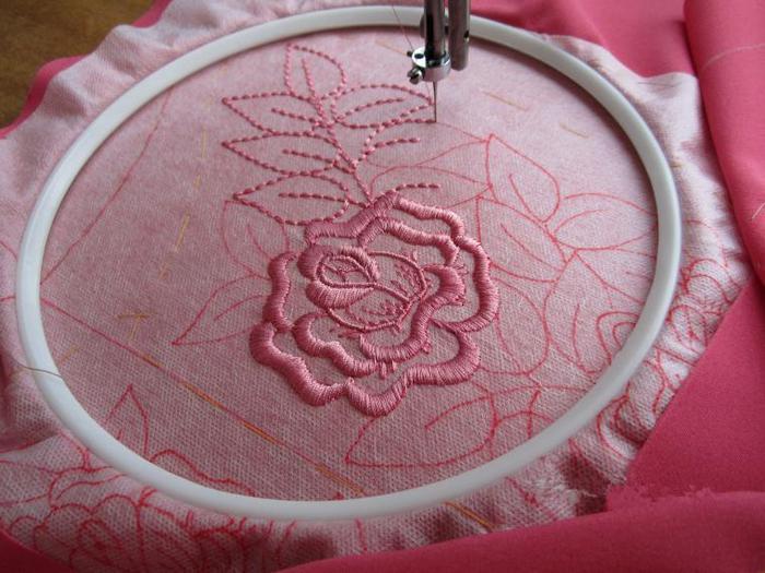 Как вышивать на швейной машине