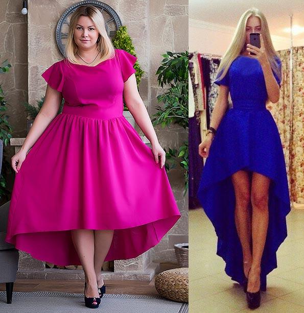 Платье с подолом сшить