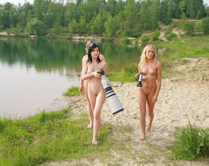 Фото девушек с отдыха ню