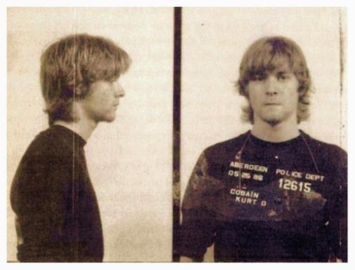 Фотографии знаменитостей, арестованных полицией