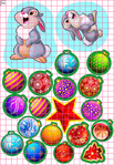 Превью зайцы (483x700, 619Kb)