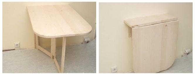 Складной столик для маленькой кухни. обсуждение на liveinter.