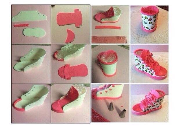Поделки для кукол обувь
