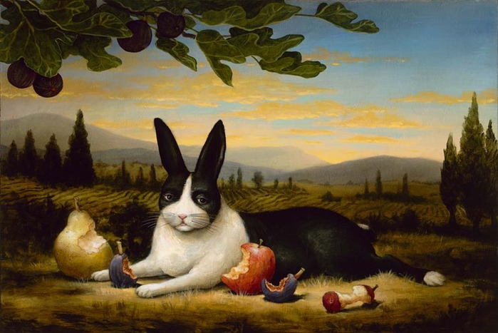 The+Satisfied+Hare (700x467, 348Kb)