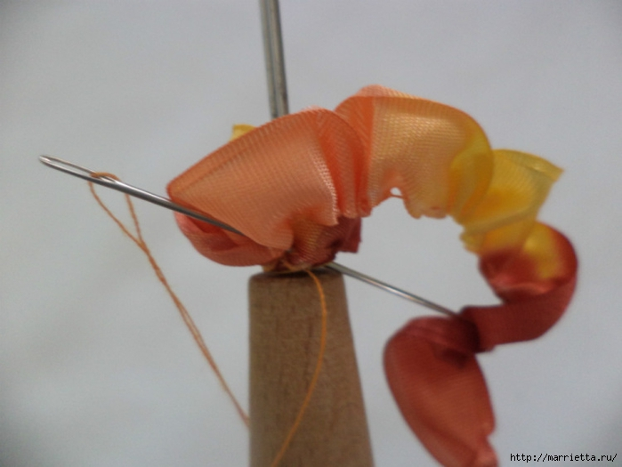 手工丝带制作教程:微型的花朵(大师班) - maomao - 我随心动