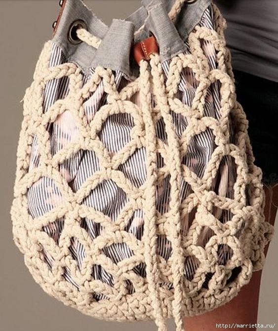 Веревочная идея для летней сумочки (3) (563x670, 261Kb)
