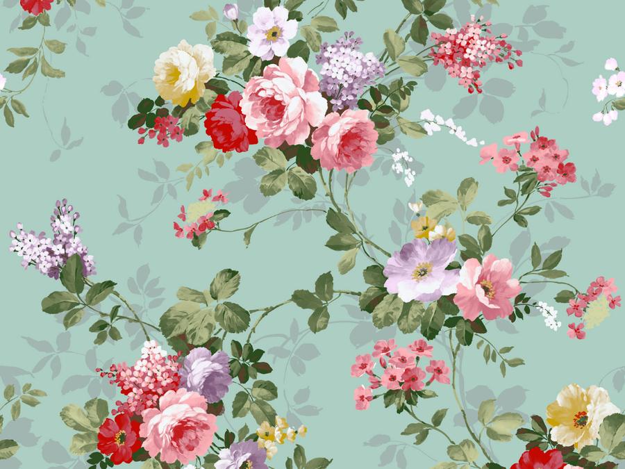 Фоны с мелкими цветами декупаж