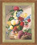 Превью ГН-008 Натюрморт с виноградом (498x600, 341Kb)