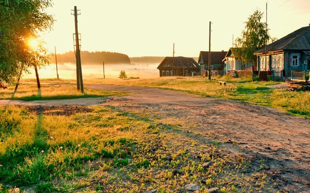 В деревне 9