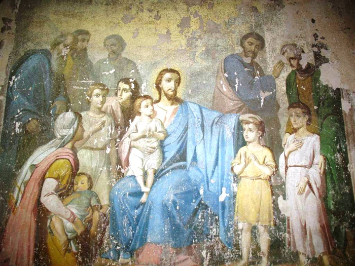 фреска в церкви (700x525, 437Kb)