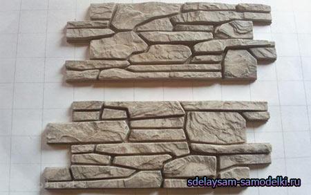Как сделать декоративные камни своими руками