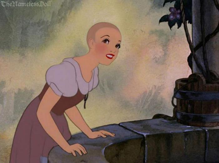 Безымянная Кукла обрезала волосы принцессам Диснея