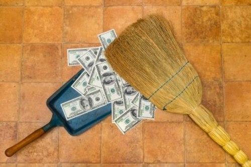 Как сделать веник с деньгами