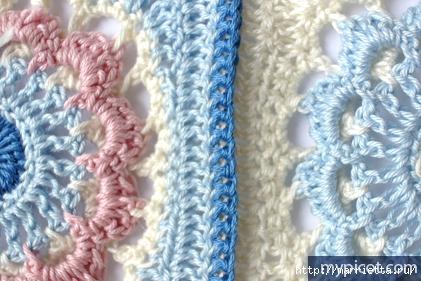 Güzel model tığ kanca veya ekose battaniye (13) (421x281, 132KB)