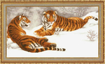 Превью ДЖ-020 Амурские тигры (600x365, 272Kb)