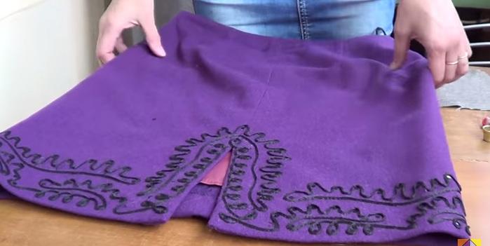 Вышивка шнуром на швейной машинке