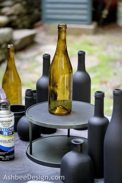 Декоративные винные бутылки своими руками (6) (400x600, 204Kb)