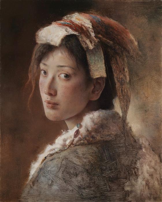 """е""""ђдјџж°'(Tang Wei Min)-www.kaifineart.com-6 (561x700, 407Kb)"""