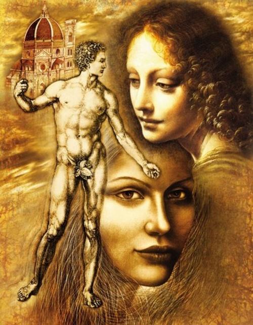 Bergr Pavel. Мужчина и женщина, вечное таинство