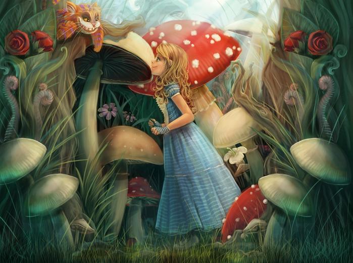 Алиса в Стране Чудес7 (700x521, 435Kb)
