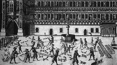 средневековая игра бросание лисицы 1 (400x223, 130Kb)