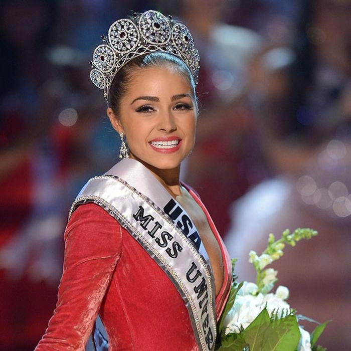 Оливия Калпо, США. «Мисс Вселенная — 2012». 20 лет, рост 165 см. (700x700, 458Kb)