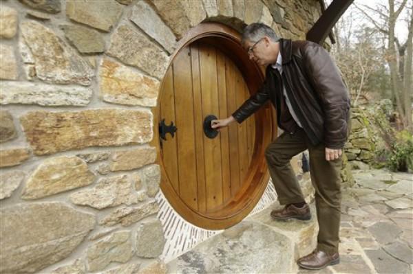 Как сделать круглую дверь