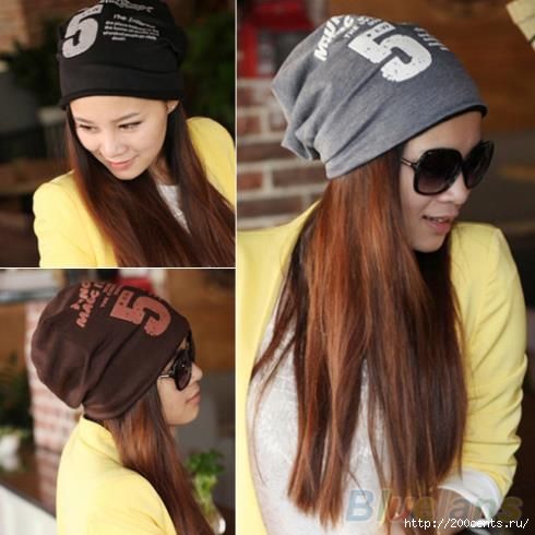 Unisex Women Men Note Five Hip-hop Baggy Beanie Hat Cool Dance Cotton Blend Cap 1T51/1437554217_UnisexWomenMenNoteFiveHiphopBaggyBeanieHatCoolDanceCottonBlendCap1T51 (490x490, 101Kb)