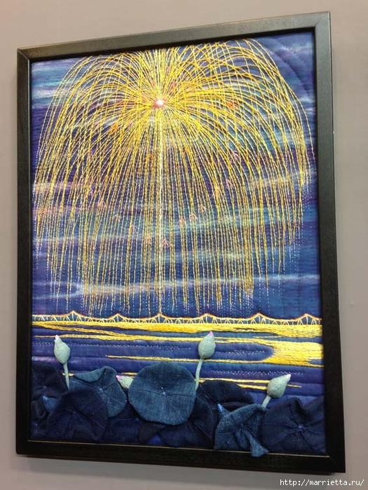 Лоскутное изобразительное искусство от японских мастериц. Часть 1 (10) (525x700, 329Kb)