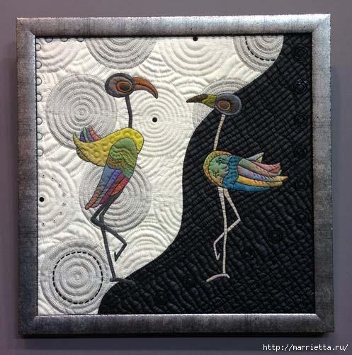 Лоскутное изобразительное искусство от японских мастериц. Часть 2 (30) (497x501, 145Kb)