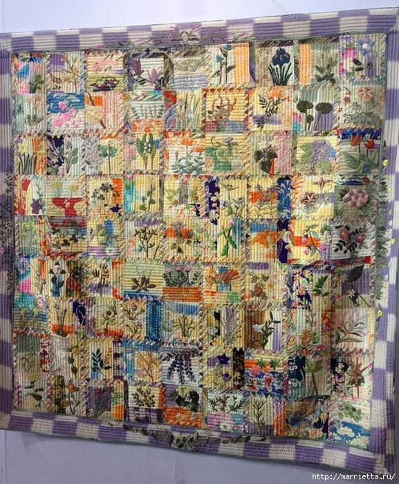 Лоскутное изобразительное искусство от японских мастериц. Часть 1 (72) (577x700, 445Kb)