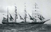 Viermastbark_Pamir Памир , четыре барк с 1905 и один из летающих P-Liner, это мыс Хорнер. (206x131, 8Kb)