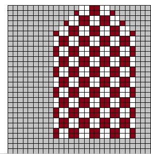 Diagram nr 2 Shifty triangle mittens (296x301, 100Kb)