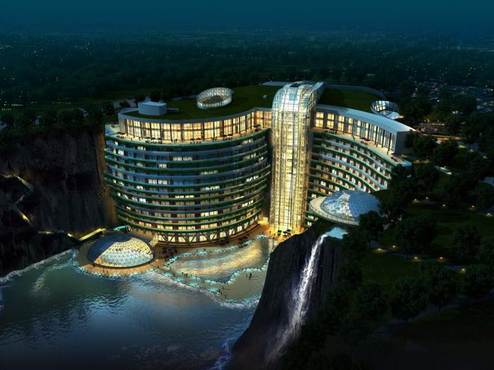 отель в каменоломне китай 2 (700x525, 383Kb)