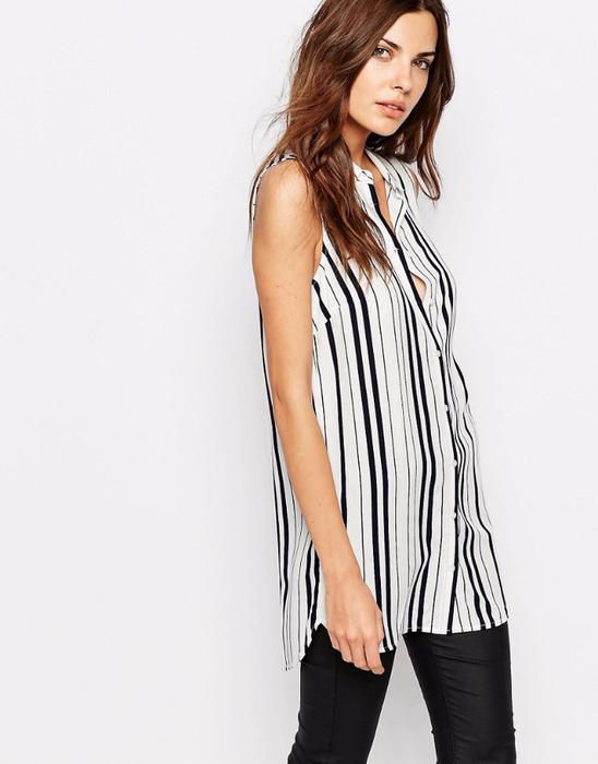 pinterest Модные весенние блузки на каждый день ТОП-6 6 (548x700, 211Kb)