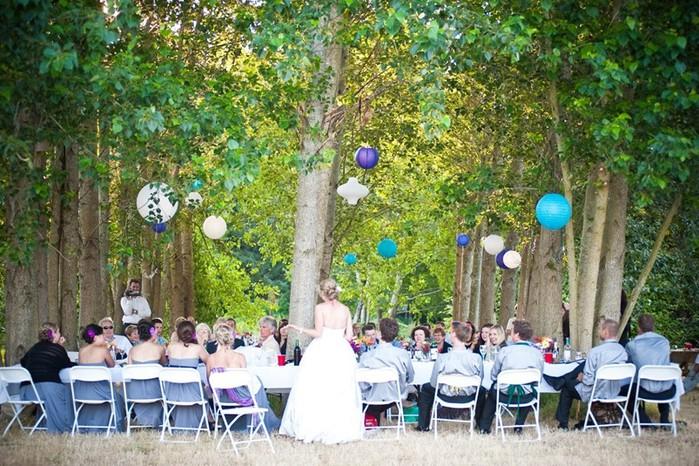 Как избежать неприятностей во время свадьбы на природе