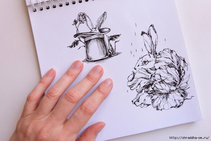 Заяц и Волшебная Шляпа от Shraddha (7) (700x466, 212Kb)