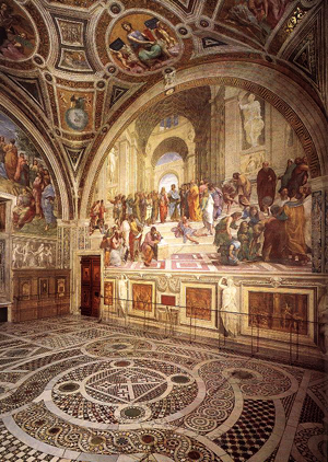Raphael View of the Stanza della Segnatura/4711681_Raphael_View_of_the_Stanza_della_Segnatura_1_ (300x422, 191Kb)