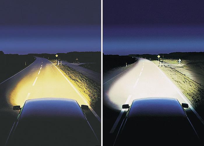 В фарах ксеноновый свет – проблем на дороге нет.