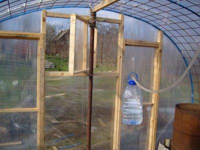 АВТОМАТИКА в ТЕПЛИЦЕ - своими руками!  Ни для кого не секрет, что выращивание овощных культур в теплице предполагает...