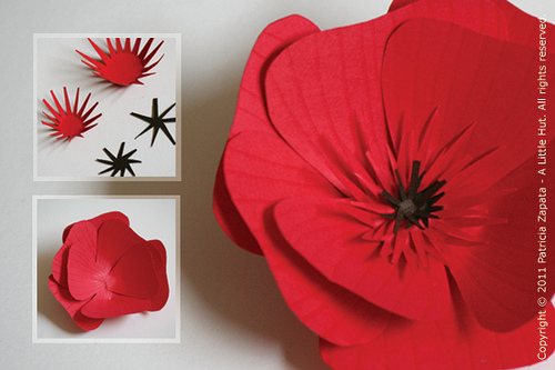 Цветок мака своими руками фото