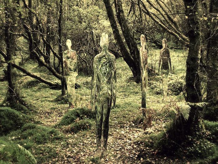 С мамой в лесу 1 фотография