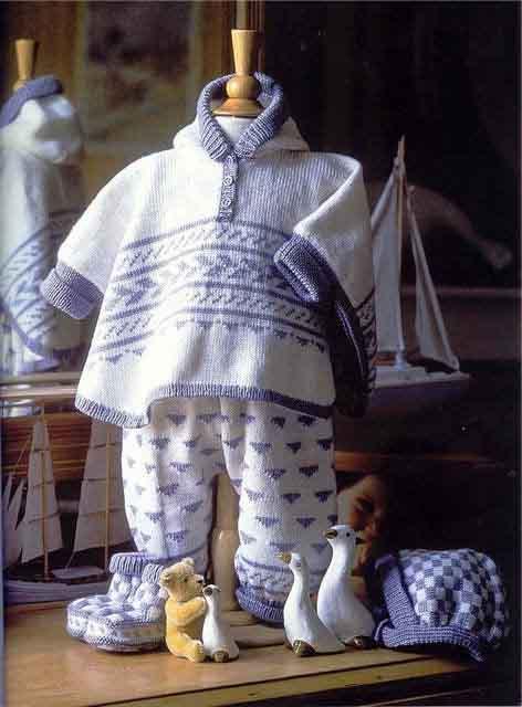 вязаное-пончо-детское (472x640, 45Kb)