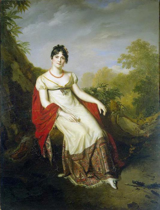 Женское платье при наполеоне